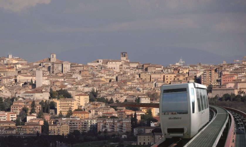 Perugia, riprende regolarmente l'attività del Minimetrò