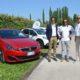 Il campione di rally della Peugeot Italia Paolo Andreucci a Shareit
