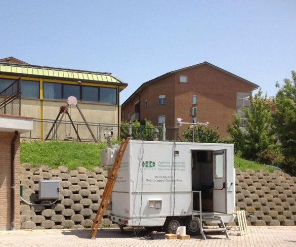 Todi: installata al Quartiere Europa centralina mobile per controllo ambientale