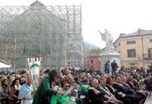 Norcia ricorda il sisma: messa in piazza