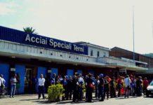 Sciopero alla Ast di Terni per i funerali di Gianluca Menechino