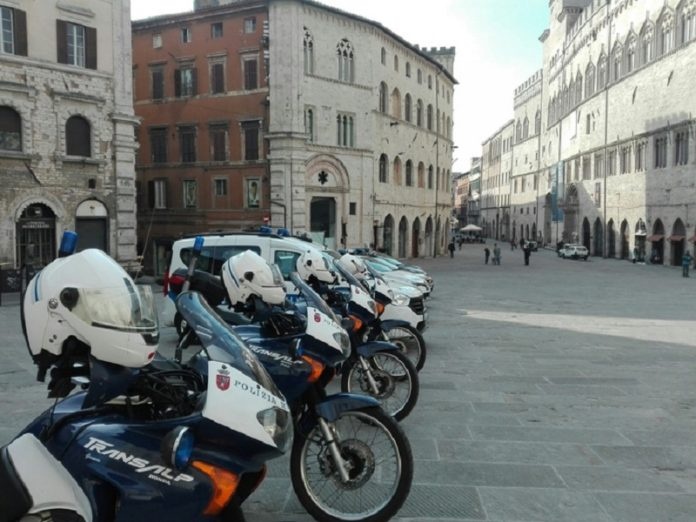 Celebrato a Perugia il patrono della Polizia Municipale