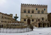 Sole, freddo e ghiaccio in Umbria: allerta arancione