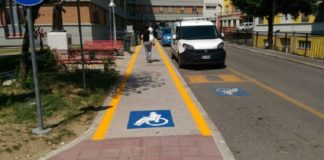 Nuovo accesso per disabili all'ospedale Santa Maria di Terni