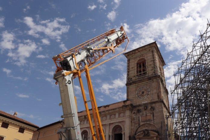 Sisma, riprendono i lavori alla Basilica di Norcia