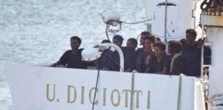 """A Foligno cinque eritrei della """"Diciotti"""""""