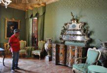 Perugia, Alessandro Quasimodo in visita a Palazzo Donini