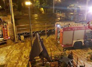 Incendio in un bar a Cascia: danni ingenti al locale